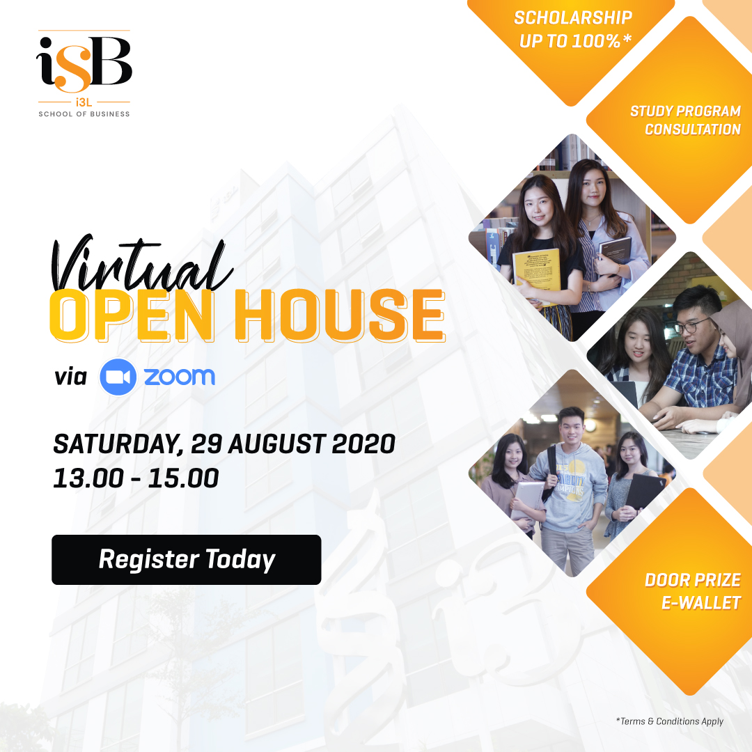 isb i3l school of business open house 29 august 2020