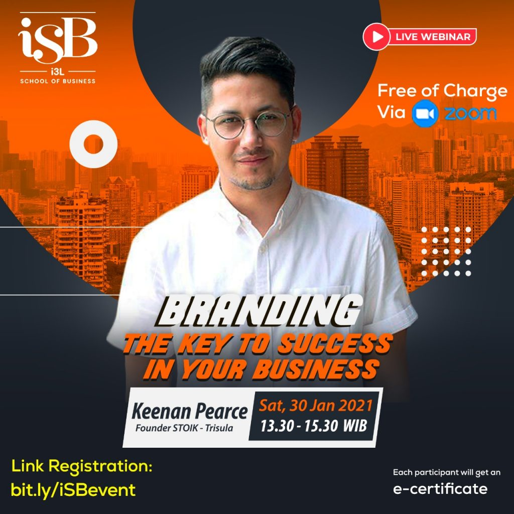 iSB Webinar Branding with Keenan Pearce