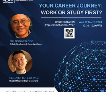 Career Journey Webinar Work or Study First