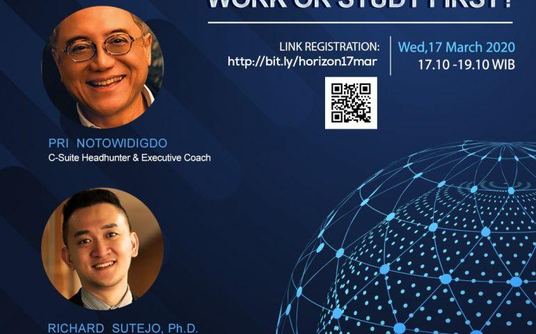 Career Journey Webinar Work or Study First