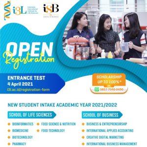 Entrance Test S1 April SNMPTN i3L iSB