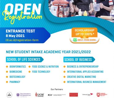 Entrance-Test-8-May- International Campus Jakarta i3L