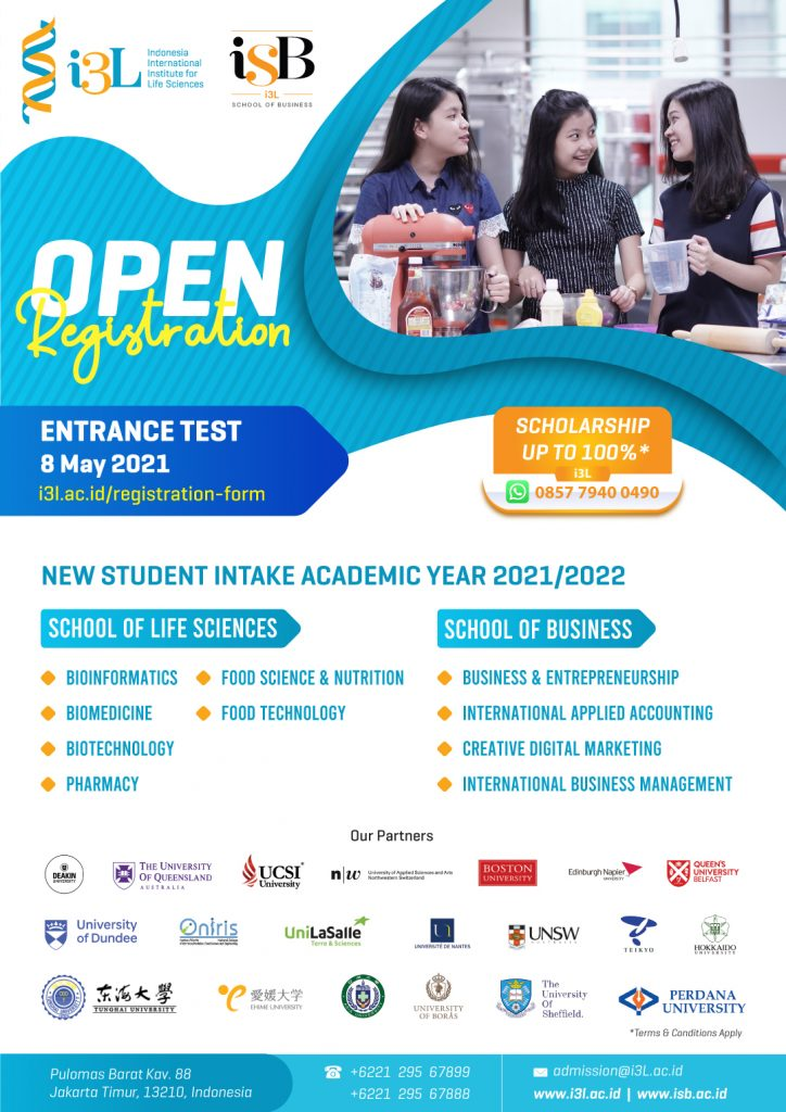 Entrance-Test-8-May- International Campus Jakarta i3L