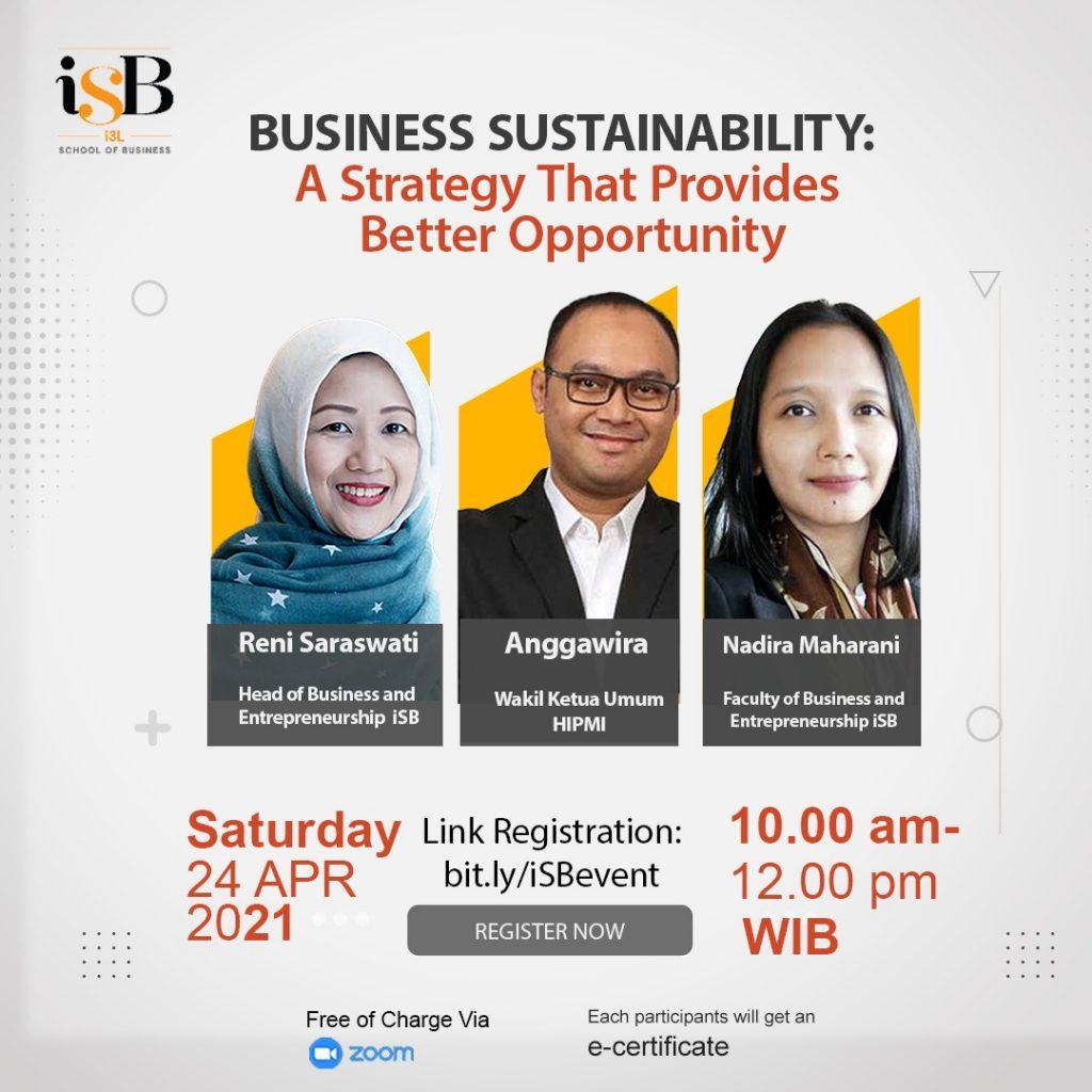 iSB Jakarta Hipmi Webinar Event