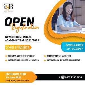 iSB Jakarta i3L School of Business Entrance Test