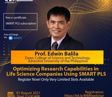 MBM Webinar Guest Speaker from Adventist University of the Philippines