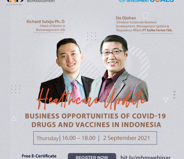 Business Opportunities of COVID-19 Drugs and Vaccines in Indonesia