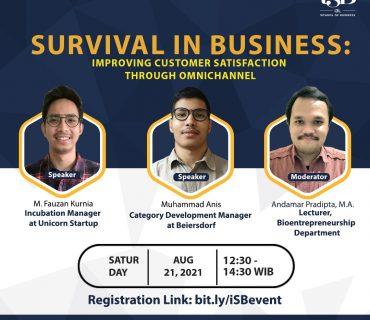 SURVIVAL IN BUSINESS Improving Customer Satisfaction Through Omnichannel